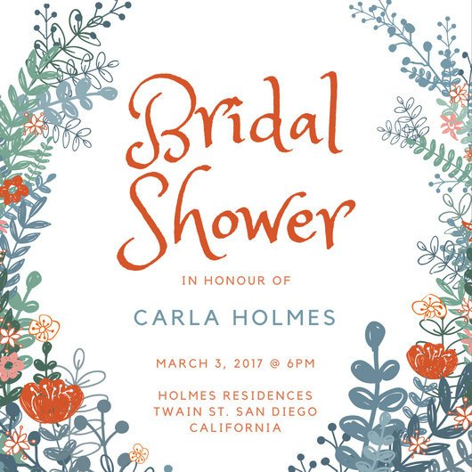 Customize 636 Bridal Shower Invitation templates online