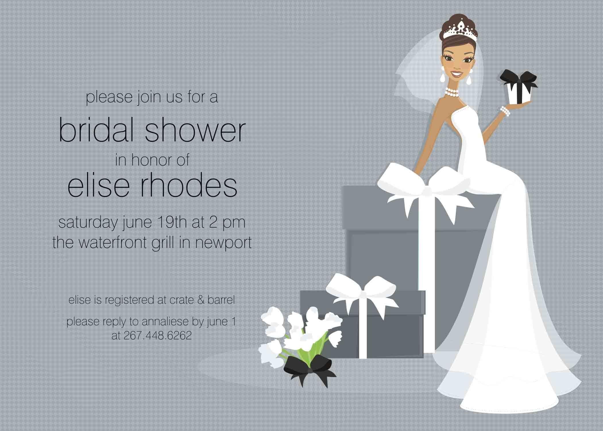 Wedding Shower Invite Templates Free Bridal Shower Invitation Templates