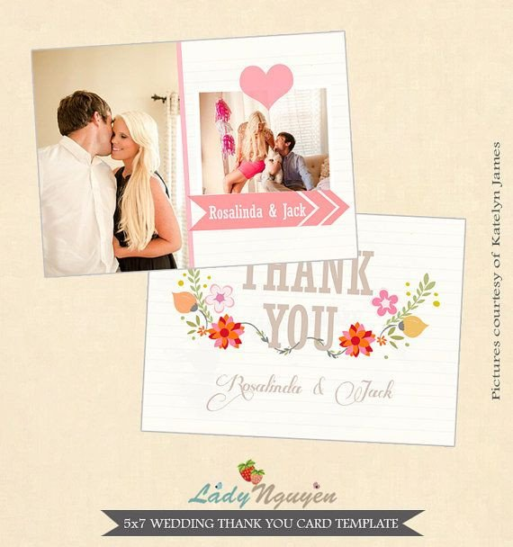 Wedding Thank You Cards Template 1000 Images About Wedding Thank You Templates On