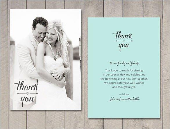 18 Wedding Thank You Cards PSD AI Vector EPS