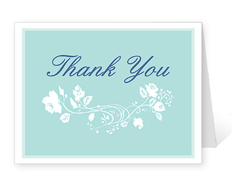 Wedding Thank You Cards Template Recession Brings Many Benefits for Brides to Be for