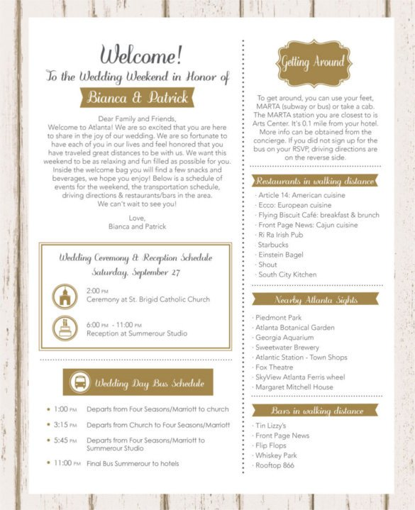 17 Wedding Template DOC Excel PDF PSD InDesign