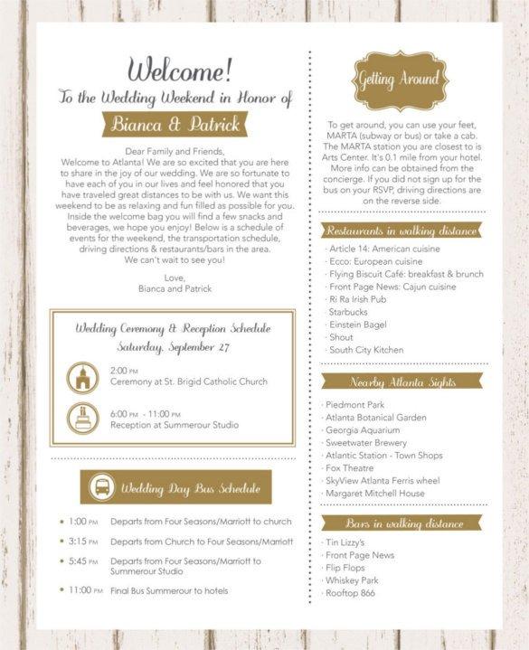 17 Wedding Template DOC Excel PDF PSD InDesign