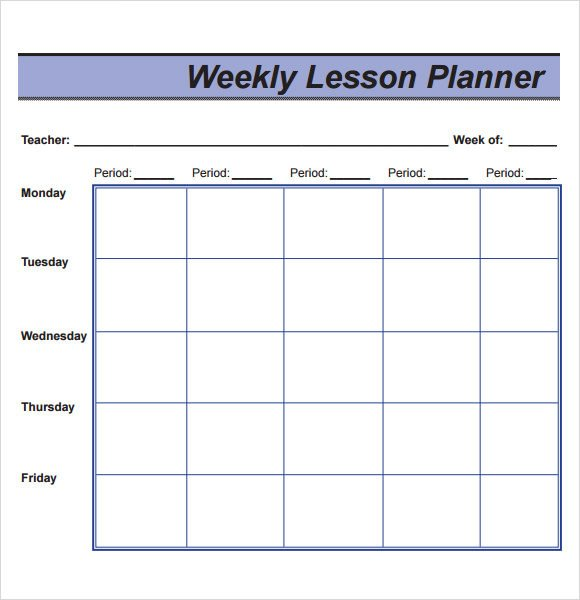 Sample Lesson Plan 9 Documents In PDF Word