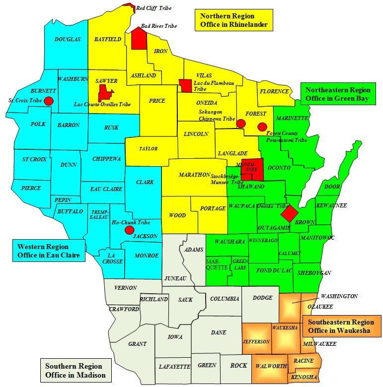 Wisconsin W2 form Regional Operations