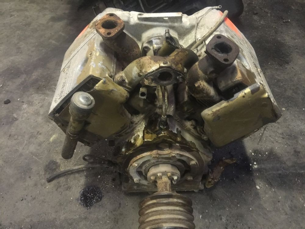 Wisconsin W2 form Wisconsin W2 1235 Engine 2 Cylinder for Parts We Will