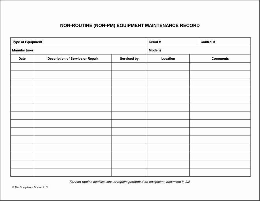 Work order Log Template Work order Template Editable Pdf File Free Download