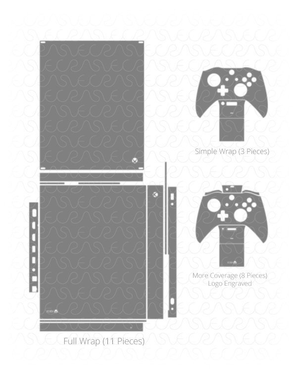 Xbox One Console Skin Template Cutfilesgaming Hashtag On Twitter