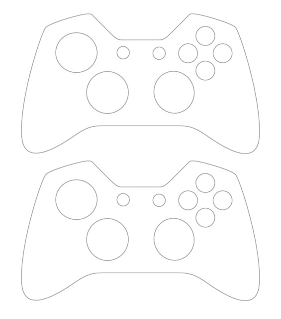Xbox One Console Skin Template Personalised Xbox One Controller Skin