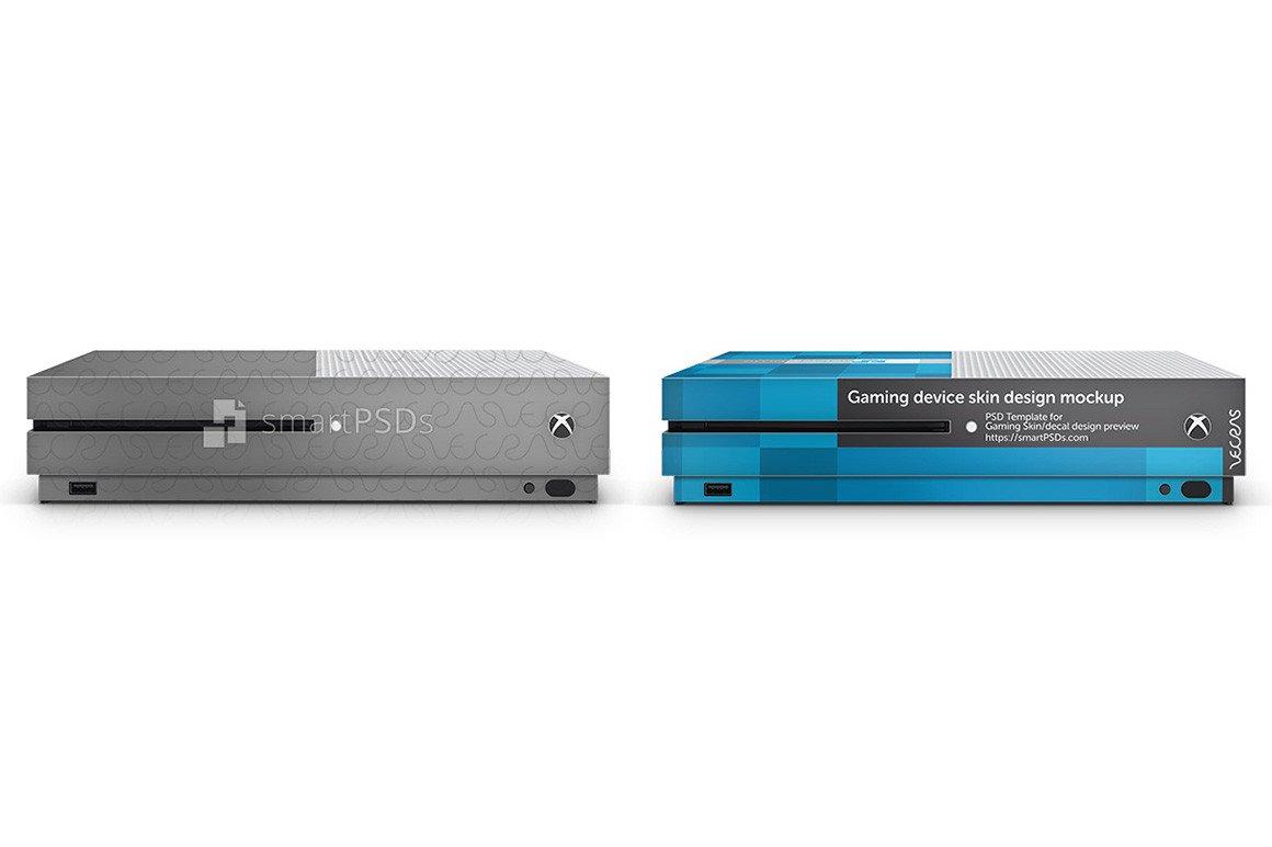 Xbox One Console Skin Template Xbox E S Console Skin Design Template 3 Views